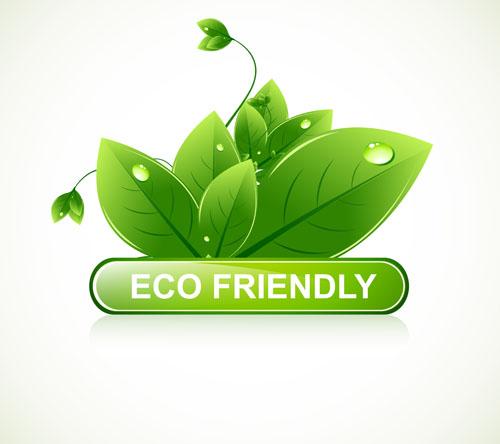 eco design elements vector cards 04 vector card free download. Black Bedroom Furniture Sets. Home Design Ideas