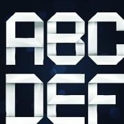 Link toElements of paper tape alphabet letter vector 02