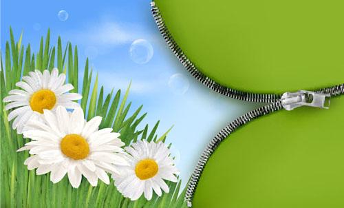 spring ppt background