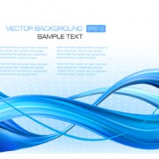 Link toBlue concept abstract vector background 02