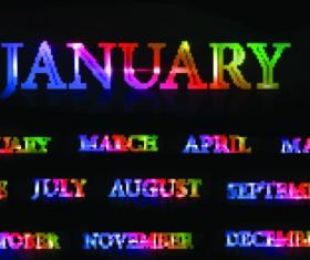 2013 calendars design elements vector 02