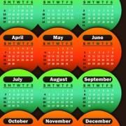 Link to2013 calendars design elements vector 03