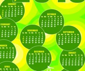 2013 calendars design elements vector 05