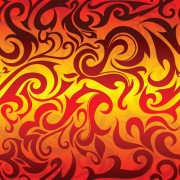 Link toSet of abstract fire vector background 07