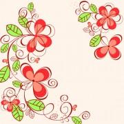 Link toSet of floral patterns elements vector 01