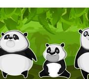 Link toSet of funny animals vector 02 (panda)