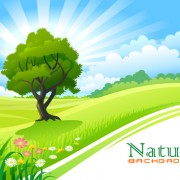 Link toGreen of nature elements vector 03
