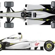 Link toF1 racing model elements vector