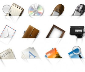Creative web psd icon set