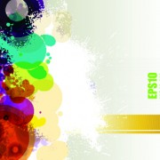 Link toAbstract colorful spots vector background 05