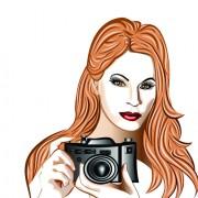 Link toSet of photographer design elements vector 07