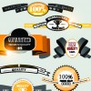 superior quality badges, labels and tags elements vector 03