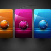 Link toShiny 3d creative icon vector 04