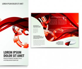 business brochure and card vector set 01