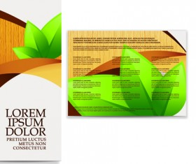 business brochure and card vector set 03