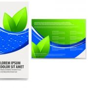 Link toBusiness brochure and card vector set 04
