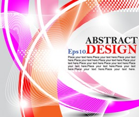 Abstract ornate vector background 02