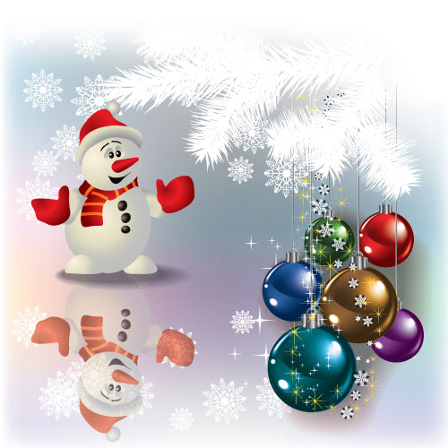 Christmas Decoration elements vector 04