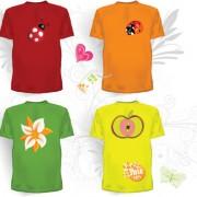 Link toCreative clothes design elements vector set 05