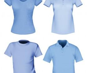 Creative Clothes design elements vector set 07