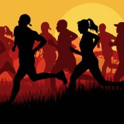 Link toSet of running silhouettes vector 02