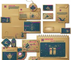 Christmas theme Label and tags vector 04