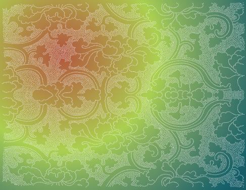 Elegant Floral Pattern vector 01