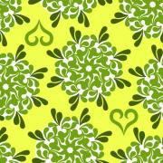 Link toElegant floral pattern vector 02