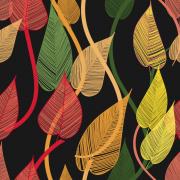 Link toAbstract leaf elements vector 01