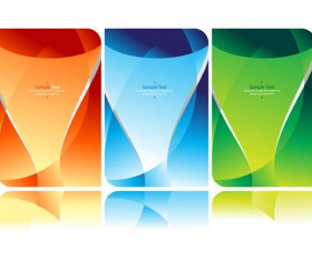 Colorful Abstract background elements vector 01
