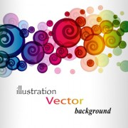 Link toElements of abstract halation background vector 02
