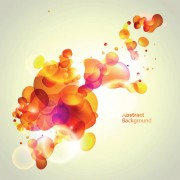 Link toElements of abstract halation background vector 03