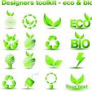 Link toEnvironmental protection and eco elements icons vector 03