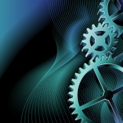Link toSet of gears vector background 01