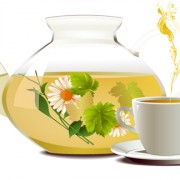 Link toSet of teapot and tea cup vector 03