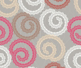 Abstract floral of Pattern vector 03