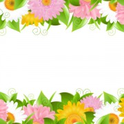 Link toSunflower elements background vector 02