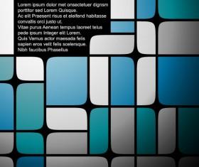 Set of Blue Grid vector background vector 01
