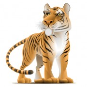 Link toSet of tiger vector picture art 07