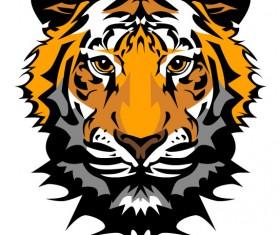 Set of Tiger vector picture art 20