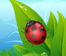 Elements of cartoon Plant Illustration vector 02