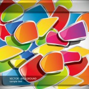 Link toColorful template creative vector background 02