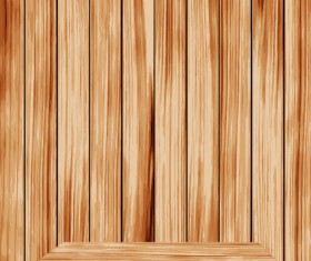 wooden Bookshelf background vector 01