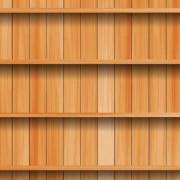 Link toWooden bookshelf background vector 03