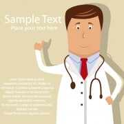 Link toDoctor elements vector background