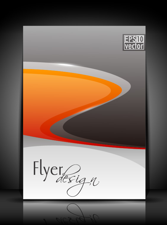 flyer and brochure background vector 02 - Vector Background free ...