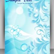 Link toFlyer and brochure background vector 04