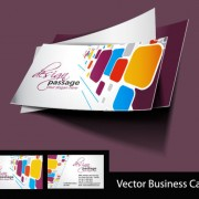 Link toAbstract creative business cards vector set 05