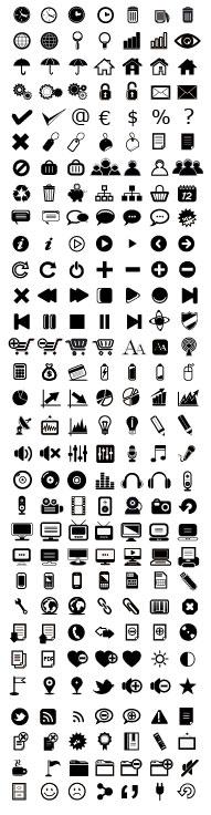 Various web icon Collection vector 02