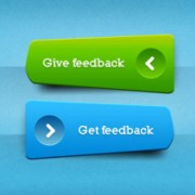Link toBlue and yellow web buttons elements psd